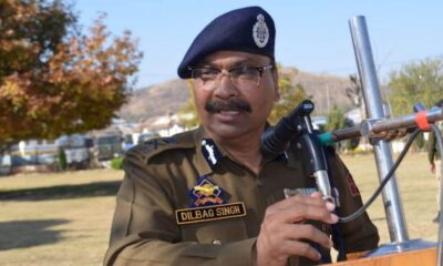 Jammu and Kashmir DGP approves scholarship for meritorious police wards