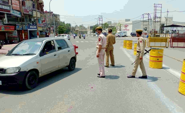 Corona curfew continues in Jammu and Kashmir, 186 arrested
