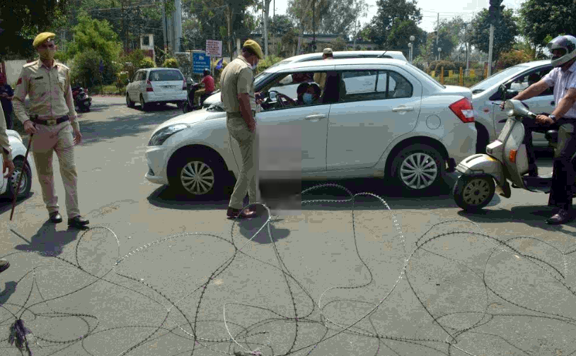Two arrested for misbehaving with police in Jammu