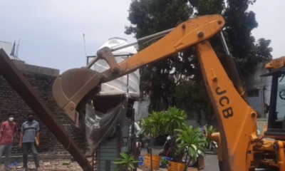 JMC launched anti-encroachment drive in this part of Jammu