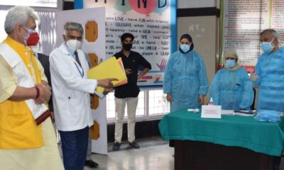 Government making sustainable investment in healthcare, clinical workforce in Jammu and Kashmir