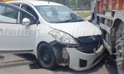 Accident on Jammu-Pathankot National Highway