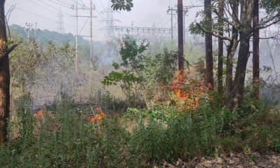 Massive fire at power grid station in Jammu