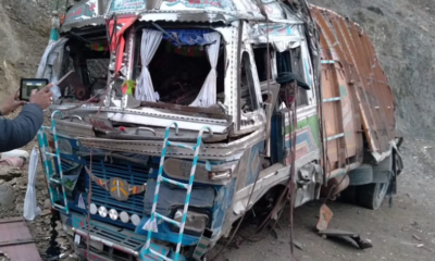 Driver dies in road accident, helper seriously injured