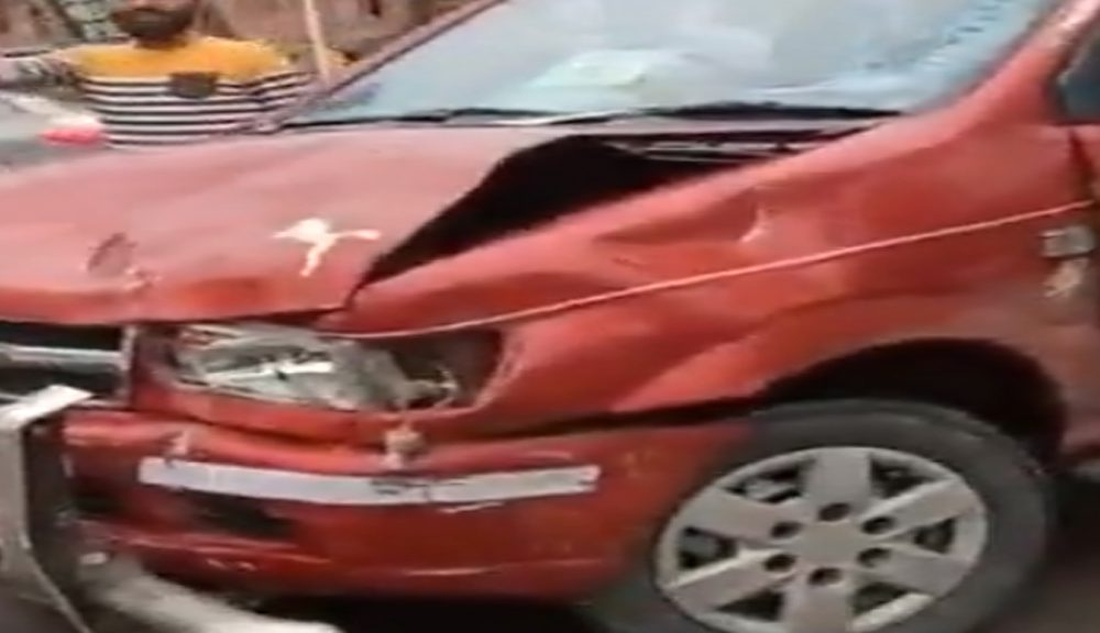 Young girl among 2 seriously injured in a major accident