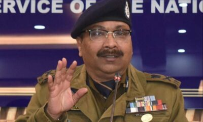 Jammu and Kashmir DGP gives relief to the families of the deceased cops