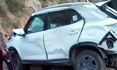 Assistant Executive Engineer dies after car falls into ditch