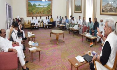 Former MLAs meet Lt Governor, highlight issues of public importance