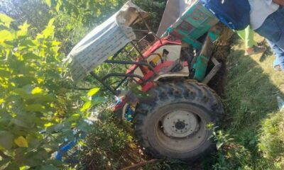Man dies after being hit by high speed tractor