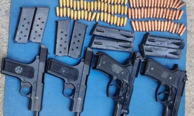 Arms, ammunition recovered by security forces in Jammu and Kashmir's Pulwama